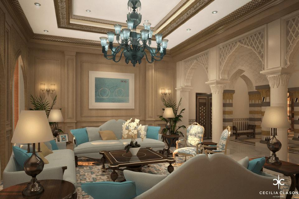 (2) Residential Interior Design Firms Dubai – Emirates Hills – From CeciliaClasonInteriors.com