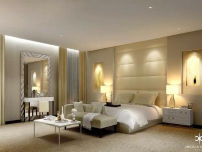 (2) Residential Interior Design Firms Dubai – Kapsarc Villa Bedroom 1 – From CeciliaClasonInteriors.com
