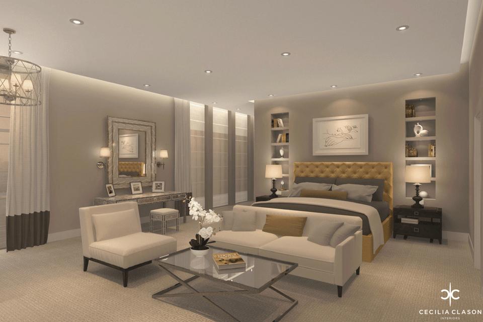 (3) House Interior Designer Dubai – Son's Bedroom Emirates Hills – From CeciliaClasonInteriors.com