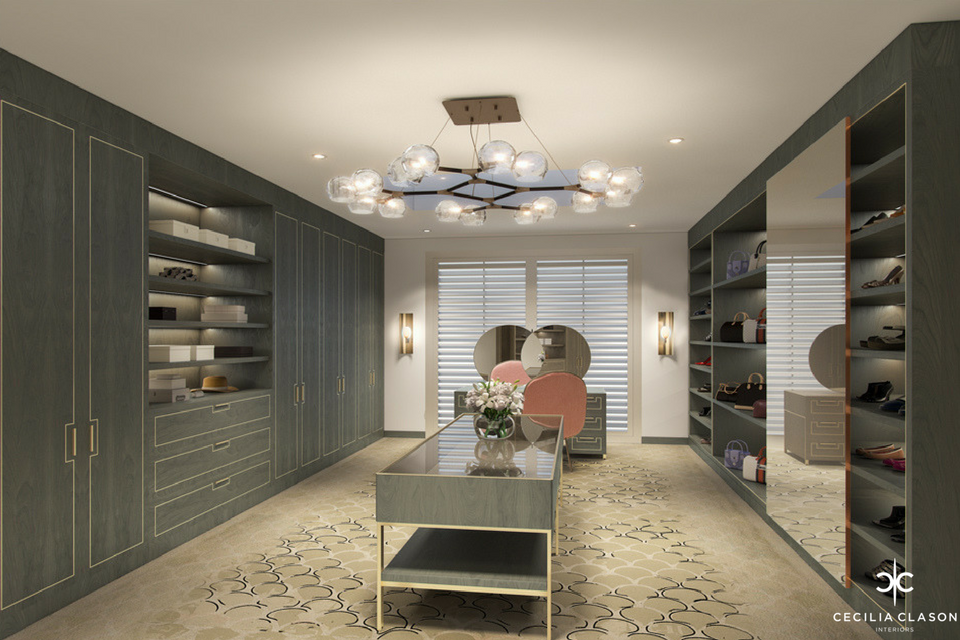 (5) Palace Interior Design Services Dubai - Walk In Closet Al Khobar - From CeciliaClasonInteriors.com