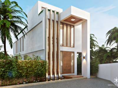 (1) Residential Interior Design Firms Dubai – Temple Heights Facade View – From CeciliaClasonInteriors.com