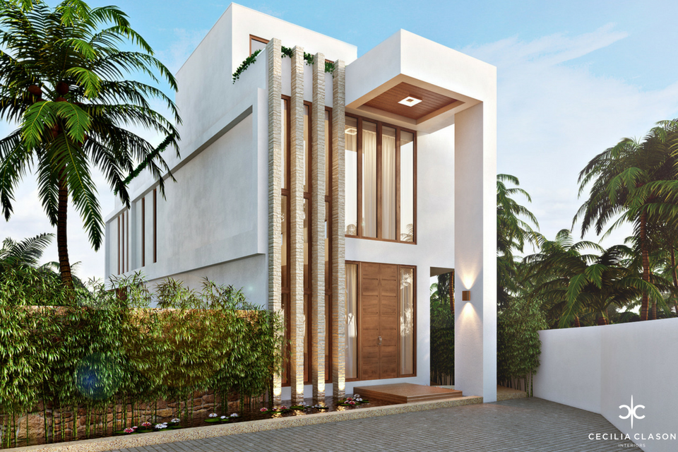 (1) Residential Interior Design Firms Dubai - Temple Heights Facade View - From CeciliaClasonInteriors.com