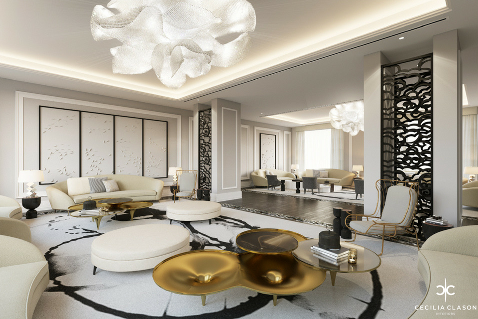 (2) Luxury Residential Interior Design Firms Dubai - Lounge Abs Palace - From CeciliaClasonInteriors.com