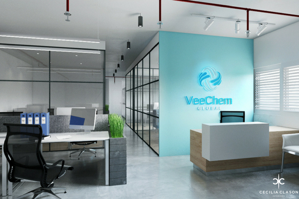 (2) Office Interior Design Companies Dubai - Veecham Office Space - From CeciliaClasonInteriors.com