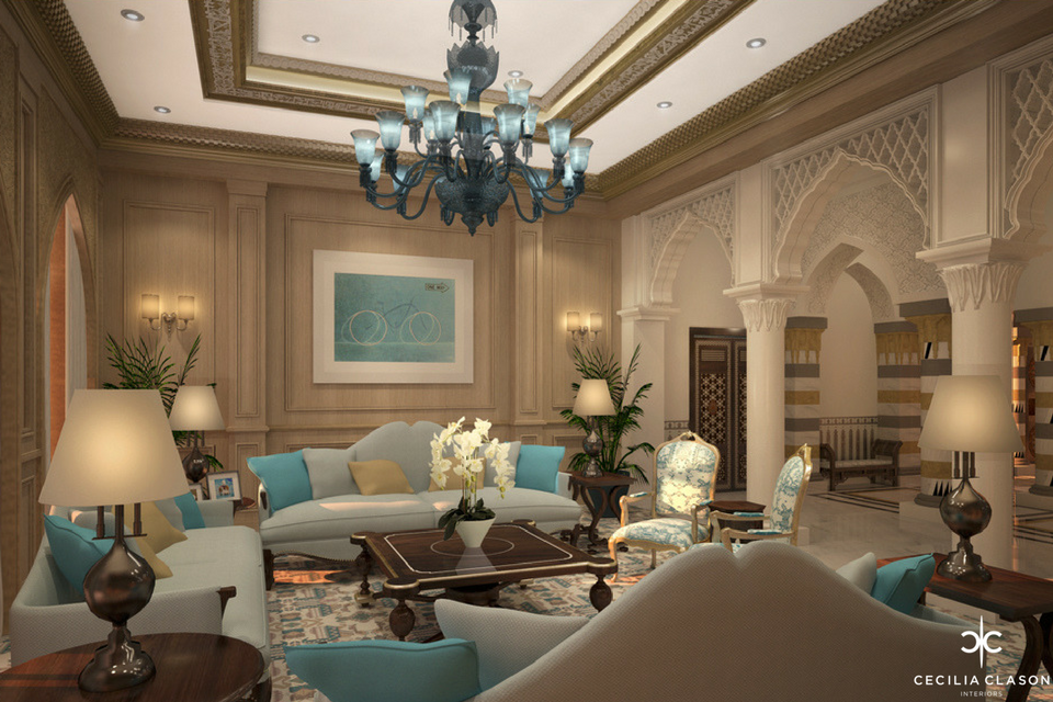 (2) Residential Interior Design Firms Dubai - Emirates Hills - From CeciliaClasonInteriors.com