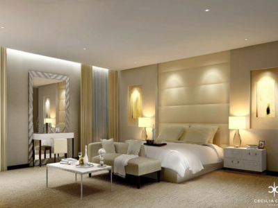 (2) Residential Interior Design Firms Dubai – Kapsarc Villa Bedroom 1 – From CeciliaClasonInteriors.com