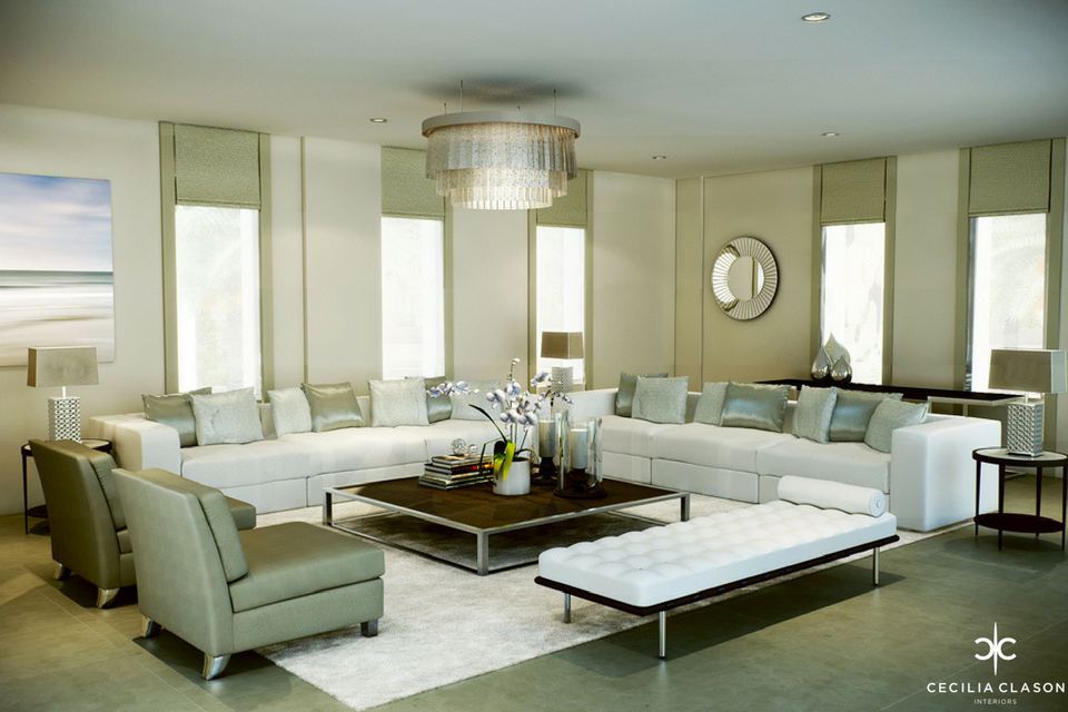(3) House Interior Designer Dubai - Kapsarc Villa Formal Living - From CeciliaClasonInteriors.com