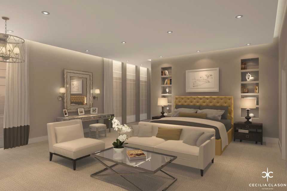 (3) House Interior Designer Dubai - Son's Bedroom Emirates Hills - From CeciliaClasonInteriors.com