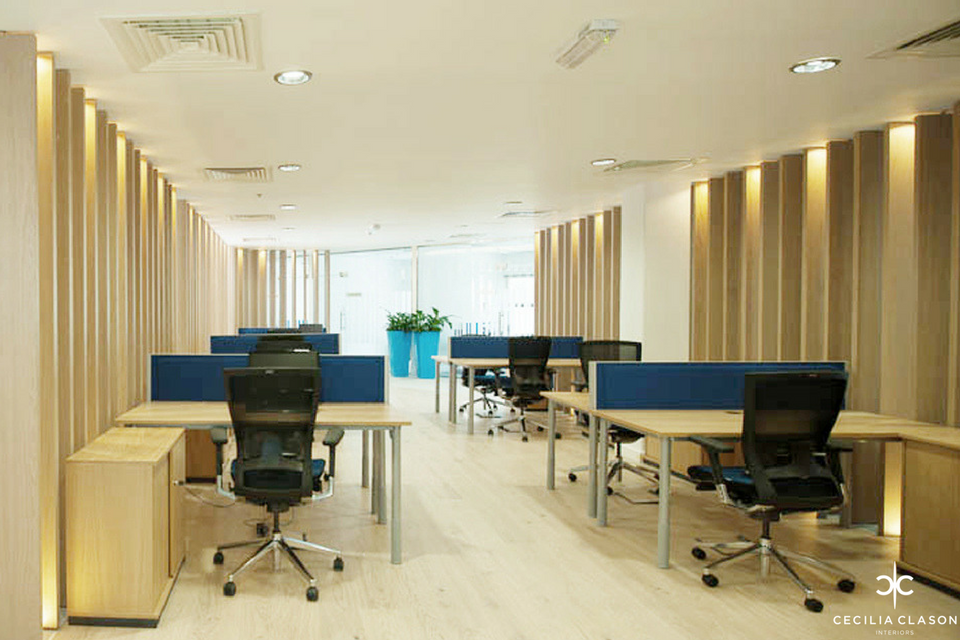 (4) Interior Office Designers Dubai - Jotun Head Office Dubai - From CeciliaClasonInteriors.com