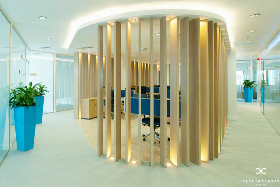 (5) Interior Office Design Companies Dubai - Corridor Jotun Head Office - From CeciliaClasonInteriors.com