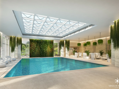 (5) Top Residential Interior Designers Dubai – Indoor Pool Abs Palace – From CeciliaClasonInteriors.com