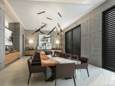 (7) Luxury House Interior Designer Dubai – Dining Abs Palace – From CeciliaClasonInteriors.com