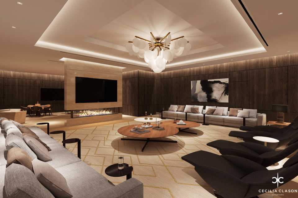 House Design Company Dubai - Playroom Abs Palace - From CeciliaClasonInteriors.com