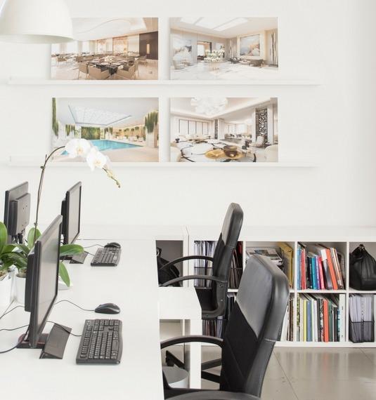 Interior Design Company in Dubai - Cecilia Clason Interiors office
