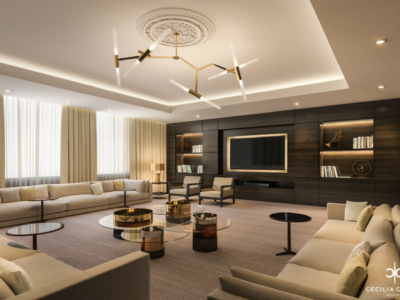 Interior Designers Residential Dubai – Small Lounge Abs Palace – From CeciliaClasonInteriors.com