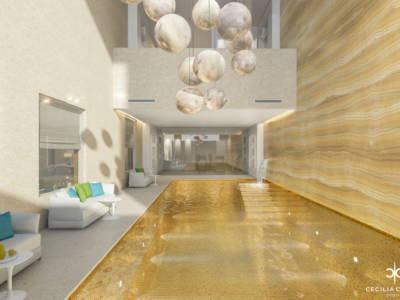 Luxury Residential Interior Design Companies in Dubai – Pool Area Abs Palace – From CeciliaClasonInteriors.com