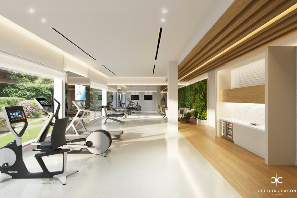 Luxury Residential Interior Designer Dubai - Gym Abs Palace - From CeciliaClasonInteriors.com