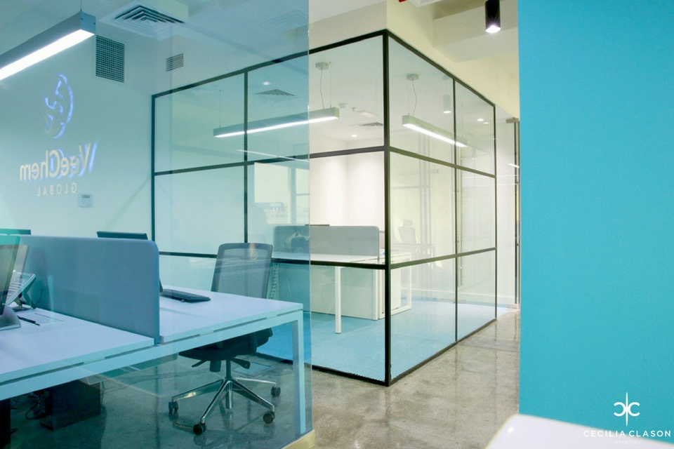 Office Interior Designers Dubai - Veecham Offices - From CeciliaClasonInteriors.com