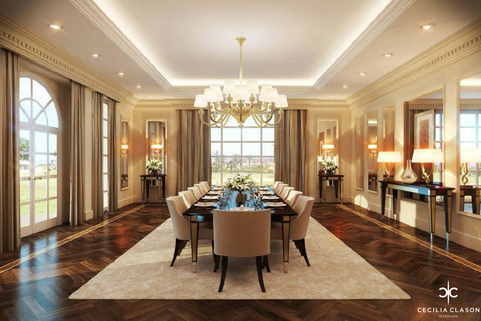Dining room portfolio Kitchen design consultants dubai