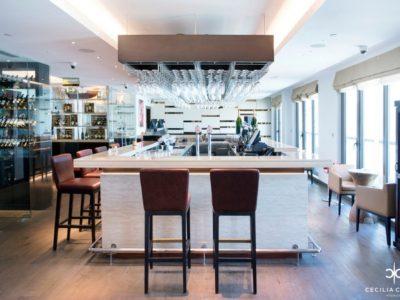 (1) Hospitality Designers Dubai - Ocean View Hotel Wine Bar - From CeciliaClasonInteriors.com