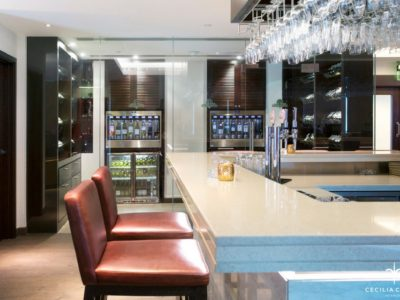 (2) Hospitality Design Firms Dubai – Ocean View Hotel Wine Bar – From CeciliaClasonInteriors.com