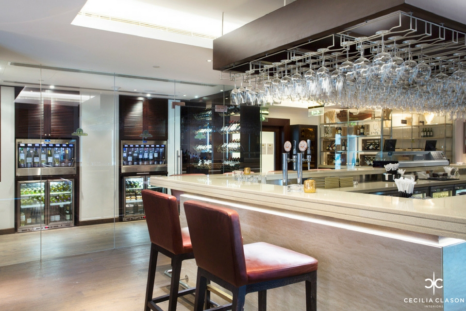 4 Hospitality Designers Dubai Ocean View Hotel Wine Bar From CeciliaClasonInteriors