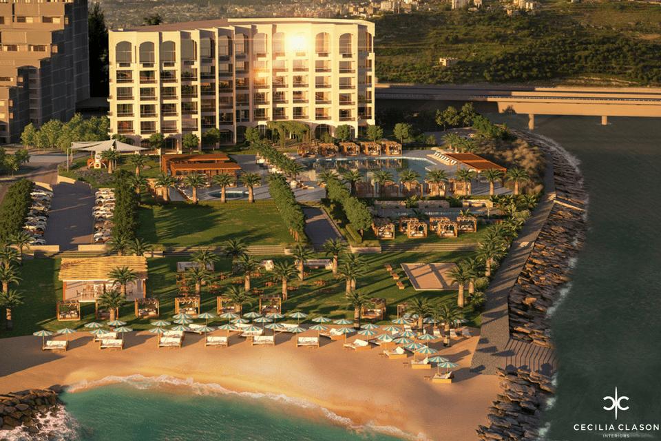 (4) Residential Interior Design Services Dubai - River And Sea Aerial - From CeciliaClasonInteriors.com
