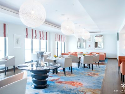 (1) Hospitality Designers Dubai - Ocean View Hotel Executive Coral Lounge - From CeciliaClasonInteriors.com