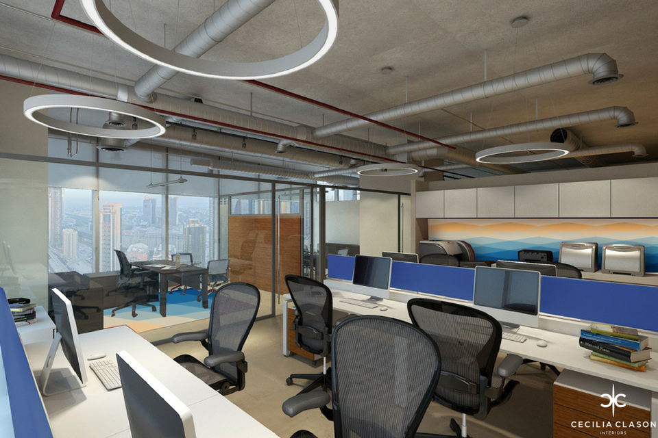 (2) Office Interior Design Companies Dubai – Office Space Al Mal – From CeciliaClasonInteriors.com