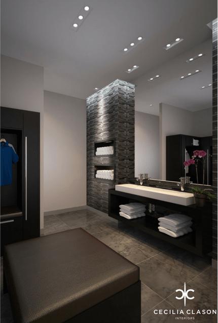(2) Top Interior Designers Dubai - Nad Al Sheba Sports Complex Changing Room - From CeciliaClasonInteriors.com