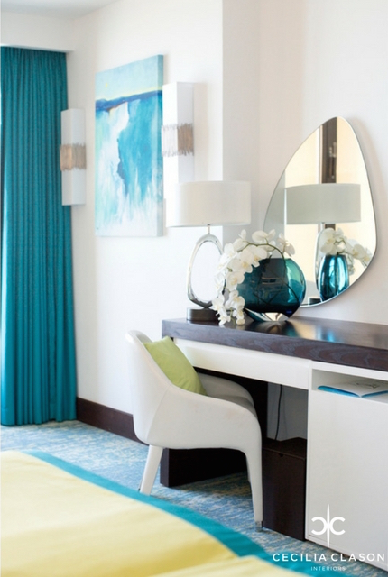 (3) Hotel Design Company Dubai - Ocean View Hotel Guest Rooms - From CeciliaClasonInteriors.com