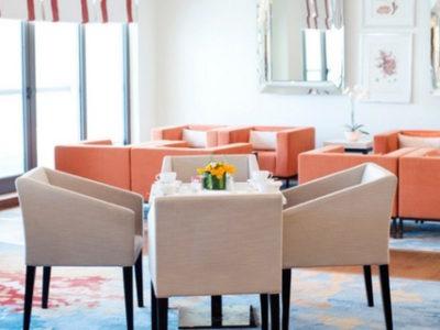 (3) Hotel Interior Design Firms Dubai – Ocean View Hotel Coral Executive Lounge – From CeciliaClasonInteriors.com