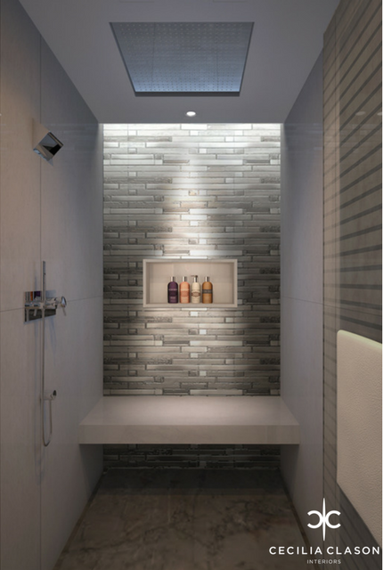 (3) Interior Design Architect Dubai - Nad Al Sheba Sports Complex Shower Room - From CeciliaClasonInteriors.com