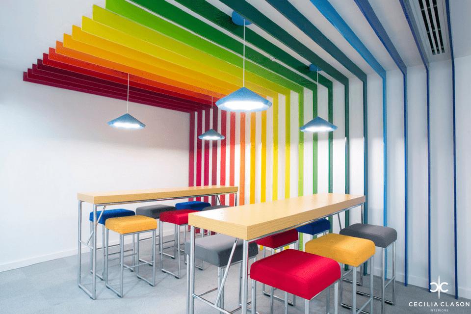 Commercial Interior Design Dubai - Jotun Head Office - From CeciliaClasonInteriors.com