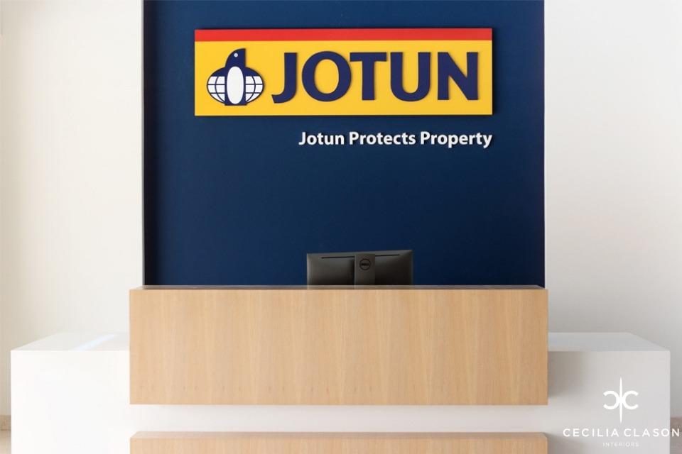 Office Lobby Interior Designers Dubai - Jotun Muscat