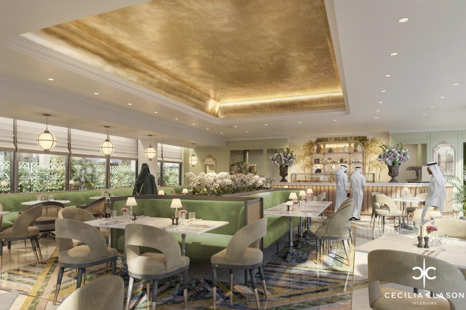 Restaurant Interior Designers Dubai - Gudee Restaurant 1 - CeciliaClasonInteriors.com