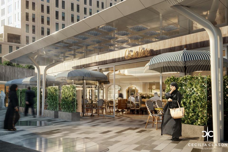 Restaurant Interior Designers Dubai - Gudee Restaurant 3 - CeciliaClasonInteriors.com