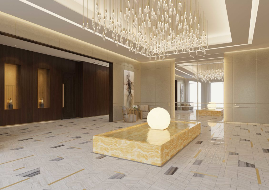 House Interior Design Company in Dubai - Inner Courtyard Abs Palace