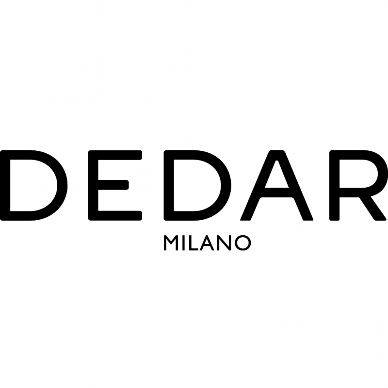 Dedar Milano black logo - Interior Design Fabrics