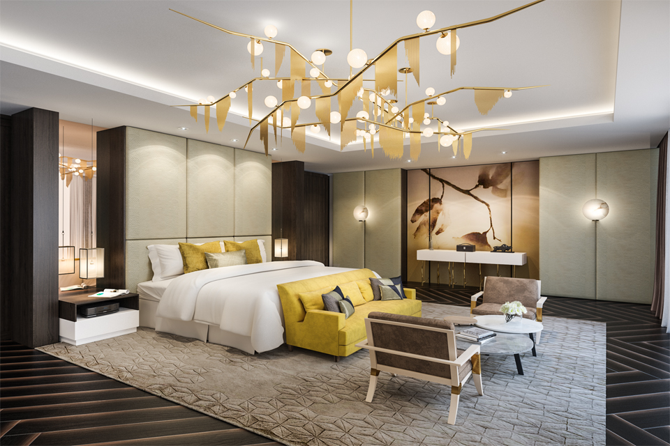 Bedroom Interior Design - Cecilia Clason Interiors