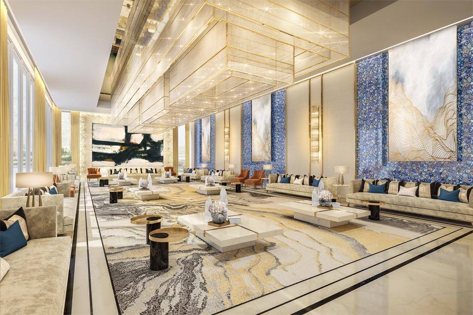 Palace Interior Lounge Design by Cecilia Clason - Al Khobar