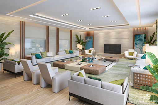 Residential Interior Design Firms Dubai - BF Lounge Abs Palace - From CeciliaClasonInteriors.com